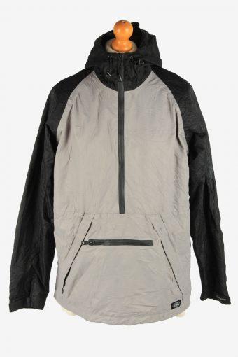 Mens Dickies Jacket Half Zip Track Outdoor Vintage Size L Grey C2941