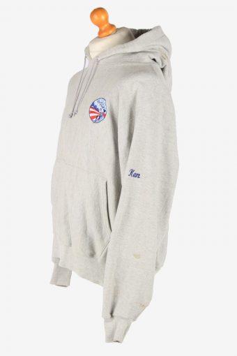 Champion Hoodies Sweatshirt Men's Vintage Size L Grey -SW2763-163628