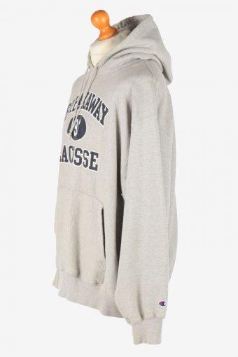 Champion Hoodies Sweatshirt Men's Vintage Size XL Grey -SW2766-163640