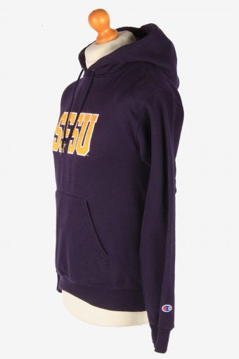 Champion Hoodies Sweatshirt Women's Vintage Size S Dark Purple -SW2774-163672