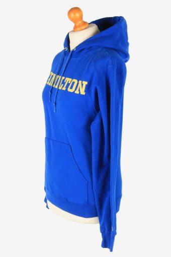 Champion Hoodies Sweatshirt Women's Vintage Size XS Blue -SW2775-163676