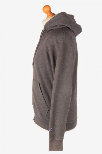 Champion Tracksuit Top Hoodies Women's Vintage Size S Dark Grey -SW2782-163700