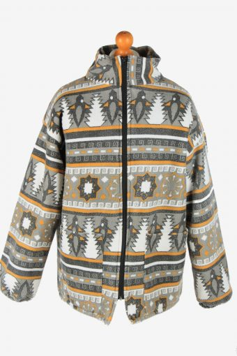 Fleece Jacket Track Top Full Zip Thermal XL