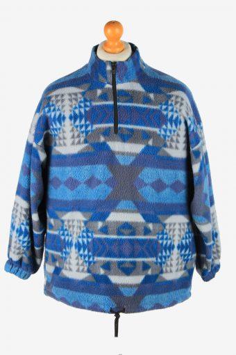 Fleece Jacket Track Top Full Zip Thermal M