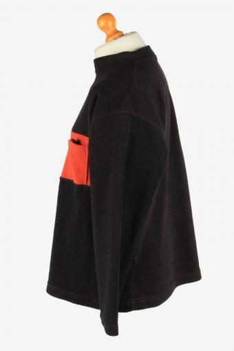 Fleece Tracksuit Top Thermal Warm Vintage Size M Multi -SW2750-160768