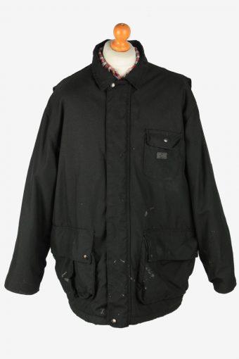 Dickies Mens  Workwear Jacket Outdoor Vintage Size XL Black C2804