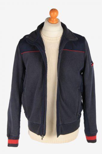 Tommy Hilfiger Mens Jacket Outdoor Knited Vintage Size M Navy C3049-163434
