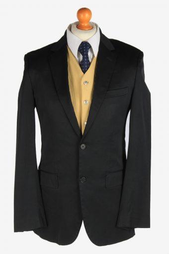 Hugo Boss Mens Blazer Jacket Lined Black M