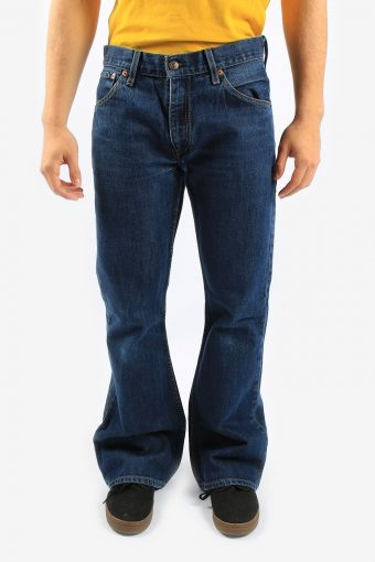 Levis 516 Bootcut Flare Leg Jeans Mens Zip Fly
