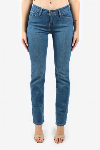 Levis Women Jeans Mid Waisted Straight Leg