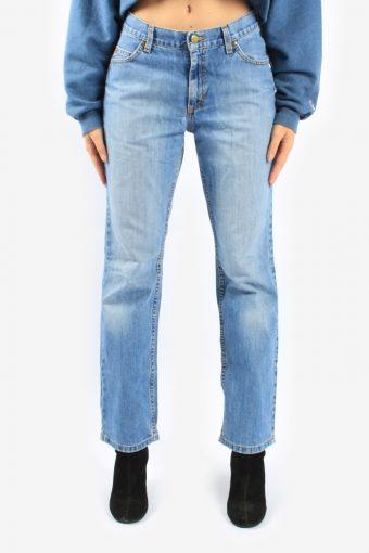 Lee Womens Denim Jeans High Waisted Regular Fit Straight Leg