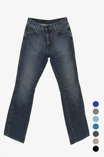 Wrangler Bootcut Mid Waisted Mens Jeans
