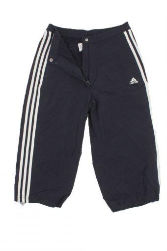 Adidas Sport Shorts Athletic Running Women Vintage Navy Size M