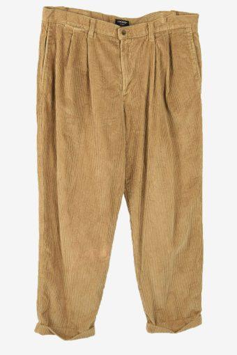 Dockers  Corduroy Cord Trousers Vintage Loose 90s Beige Size W38 L30