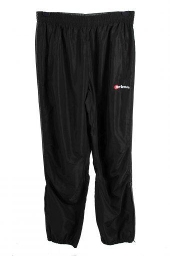 Erima Tracksuits Bottom Training Gym Sportswear Men Vintage Size M Black