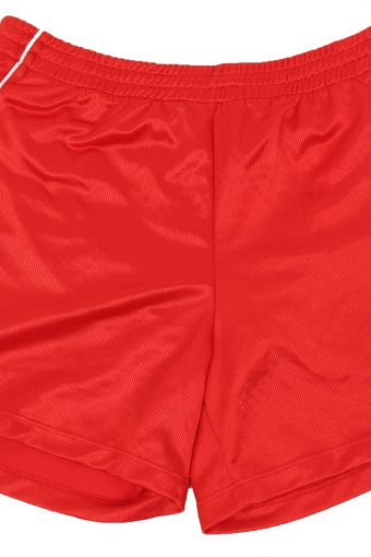 Hummel Mens Short Elasticated Waist Summer Fitness Vintage Size L Red