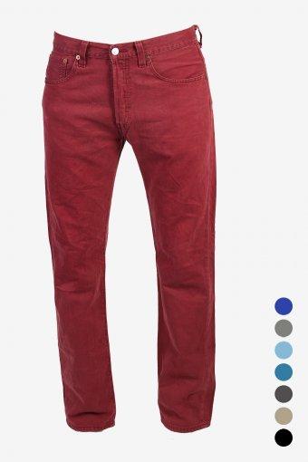 Levis 501 Jeans Coloured Regular Fit Denim