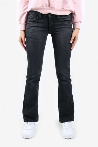 Levis Low Waisted Women Jeans Flare Leg Bootcut