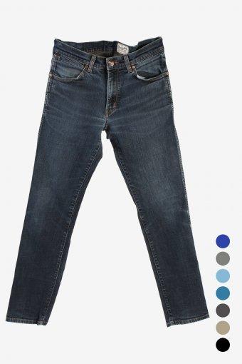 Wrangler Greensboro Mens Classic Fit Straight Jeans 90s Retro