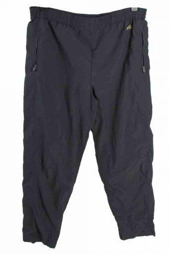 Adidas Tracksuits Bottom Three Stripes  Retro Exclusive Size L Dark Grey