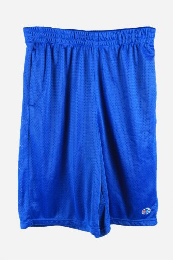 Champion Basketball Shorts Running Activewear Trainning Shorts 90s Blue XL