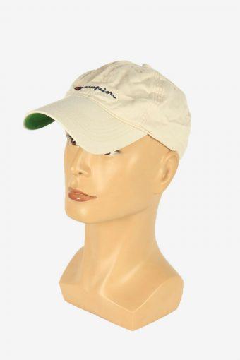 Champion Sport Cap Adjustable Snapback Headwear Vintage Retro Beige