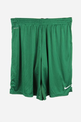 Nike Football Shorts Training Gym Sports Shorts Vintage 90s Green XL