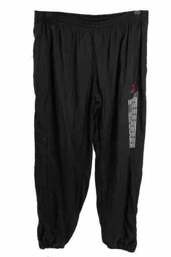 Puma Tracksuits Bottom Sport Lifestyle Sportswear Vintage Size L Black