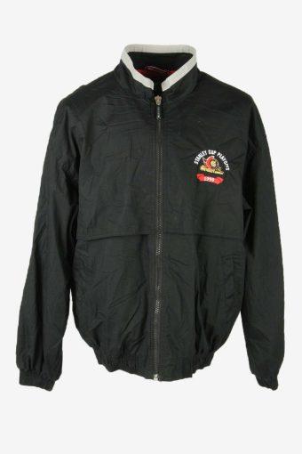 Starter Vintage Outdoor Jacket Lined Pockets 90s Retro  Black Size XL
