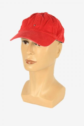 Tommy Hilfiger Sport Cap Adjustable Snapback Headwear 90s Retro Red
