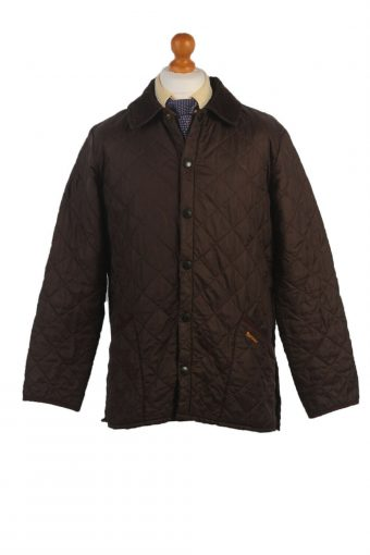BARBOUR Duracotton Liddesdale Quilted Jacket Vintage Size S