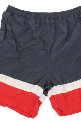 Fila Mens Short Elasticated Waist Summer Beach Fitness Vintage  Navy