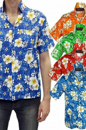 Hawaiian Shirt Stag Do Night Party Fancy Loud Holiday Floral New All Sizes
