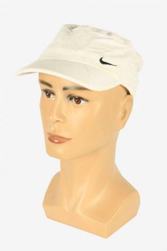 Nike Baseball Cap Adjustable Snapback Outdoor 90s Retro White