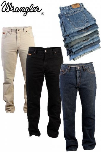 Vintage Wrangler Jeans Straight Regular Legs