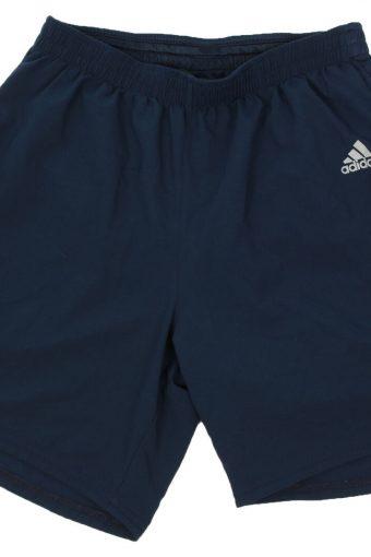 Adidas Mens Short Elasticated Climacool Football Vintage Size M Navy
