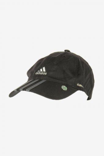 Adidas Sport Cap Adjustable Snapback Headwear 90s Vintage Retro Black