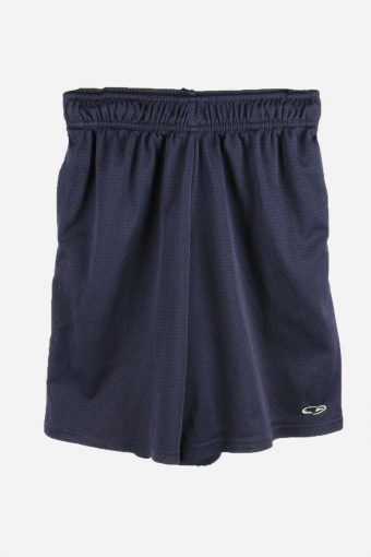 Champion Basketball Shorts Running Activewear Trainning Short 90s Navy L