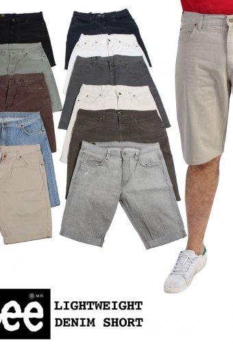 Mens Lee Lightweight Chino Shorts