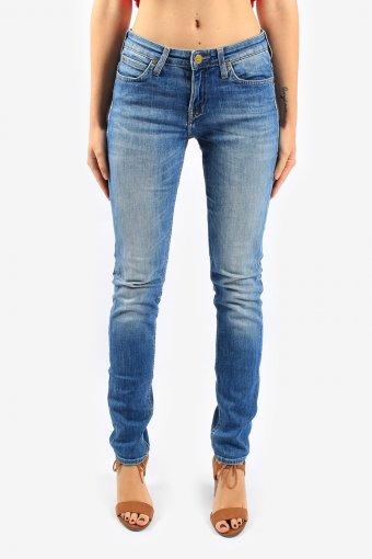 Lee Mid Waisted Women Jeans Slim Skinny Fit
