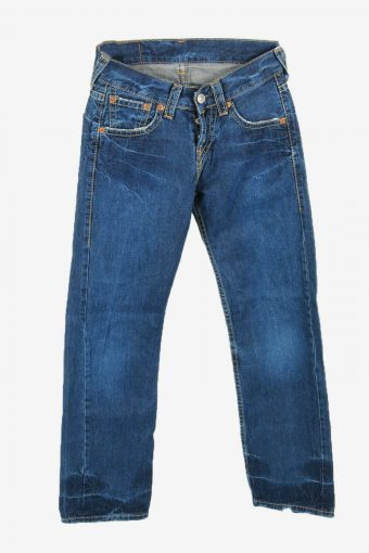 Levi's Lot 901 Vintage Jeans Straight Relaxed Button Women Blue W27 L30