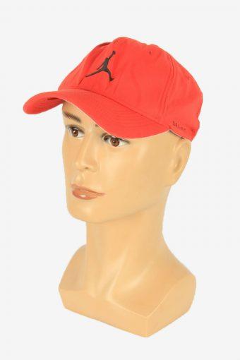 Nike Jordan Cap Adjustable Snapback Outdoor 90s Vintage Retro Red