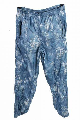 Reebok Tracksuits Bottom Sportswear Training Men UK Size S Blue