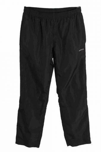 Reebok Tracksuits Bottom Sportswear Training Women Vintage Size S Black