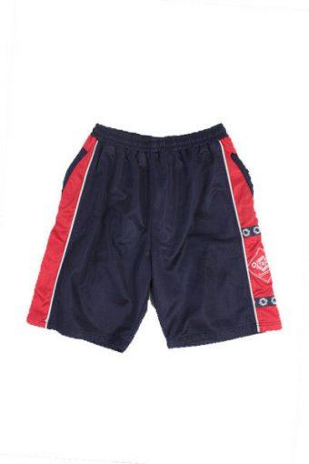 Running Shorts Training Athletic Sport Vintage Men Blue XL