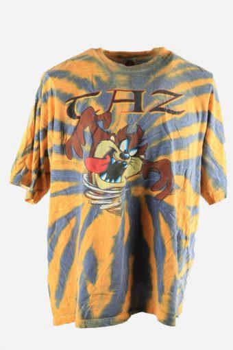 Taz Tie Dye Tshirt Top Tee Music Festival Retro Rainbow Men Multi Size XL