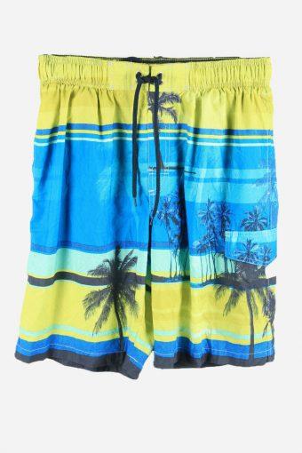 Vintage Hawaiian Shorts Beach Holiday Bermuda Palm Summer Multi Size M