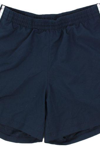 Adidas Mens Short Elasticated Waist Summer Training Vintage Size L Navy
