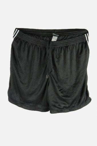 Champion Football Shorts Training Gym Sports Shorts Vintage 90s Black XL