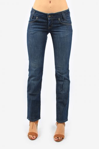 Lee Women Jeans Low Waisted Straight Leg